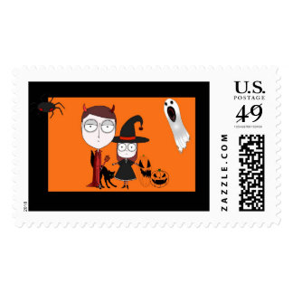 Halloween Gang Stamp