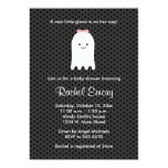 Halloween Ghost Baby Shower Invitations