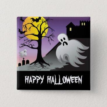 Halloween Themed Halloween Ghost Bats 10% Off Sale Button