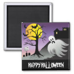 Halloween Ghost Bats 10% Off Sale Magnets