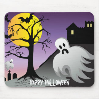 Halloween Ghost Bats 10% Off Sale Mouse Pads