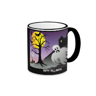 Halloween Ghost Bats 10% Off Sale Mugs