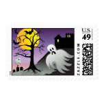 Halloween Ghost Bats 10% Off Sale Stamp