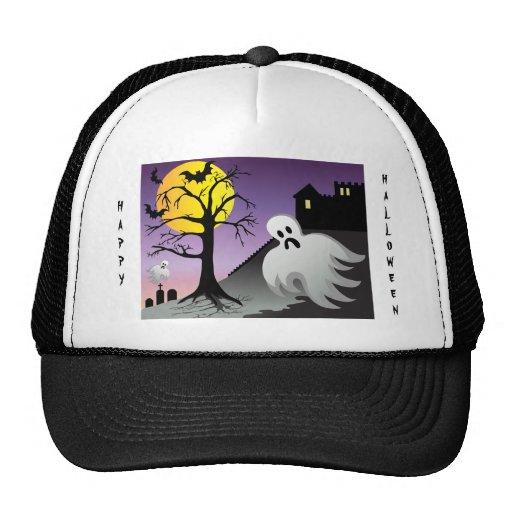 Halloween Ghost Bats 10% Off Sale Trucker Hat