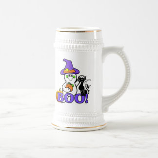 Halloween Ghost Beer Stein