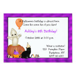 Halloween Ghost Birthday Invitation
