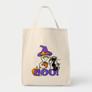 Halloween Ghost Boo Canvas Bag