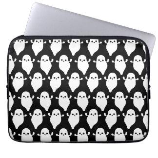 Halloween Ghost Boo Boo Pattern Art Computer Sleeve