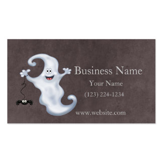 Halloween Ghost Boo Business Card
