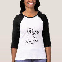 Halloween Ghost Boo Cute Costume Trick or T-Shirts
