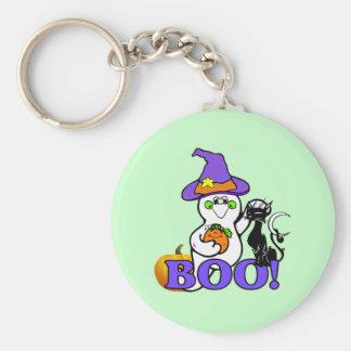 Halloween Ghost Boo Keychain