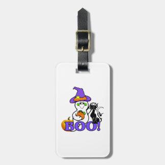 Halloween Ghost Boo Luggage Tag