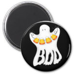 halloween ghost boo magnet