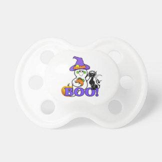 Halloween Ghost Boo Baby Pacifiers