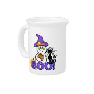 Halloween Ghost Boo Pitcher