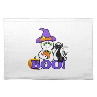 Halloween Ghost Boo Place Mats