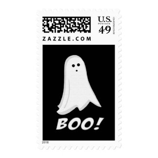 Halloween Ghost Boo Postage