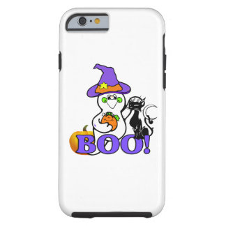 Halloween Ghost Boo Tough iPhone 6 Case