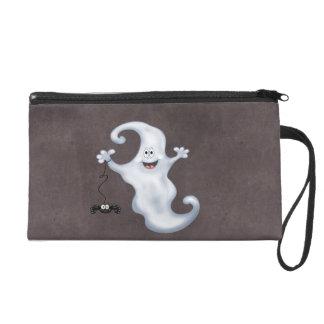 Halloween Ghost Boo Wristlet Purse