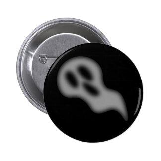 Halloween Ghost Button