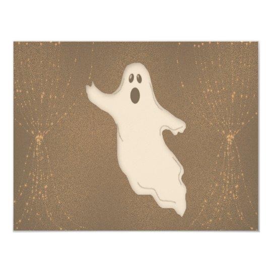 Halloween Ghost Card