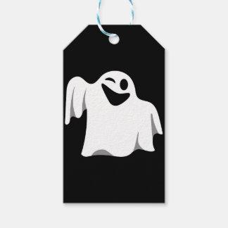 Halloween Ghost Cartoon Illustration 09 Gift Tags