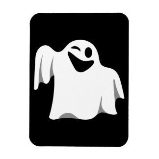 Halloween Ghost Cartoon Illustration 09 Magnet