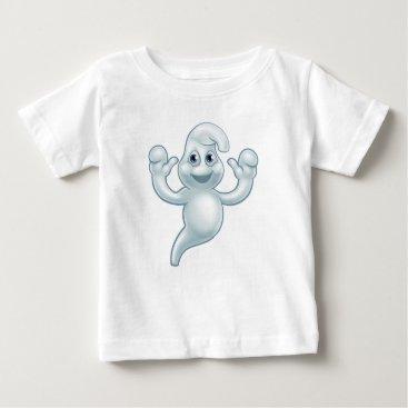 Halloween Themed Halloween Ghost Cute Cartoon Character Baby T-Shirt