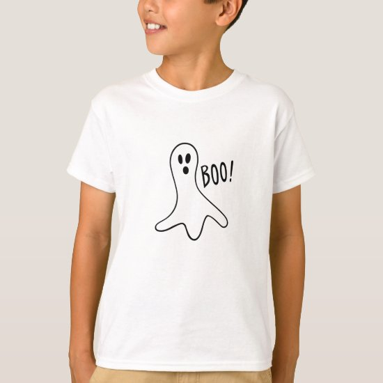 Halloween Ghost Cute Halloween Shirt