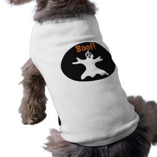 Halloween Ghost Dog Costume Tee