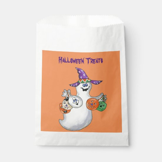 Halloween Ghost Favor Bag