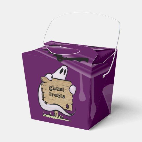 Halloween ghost favor box