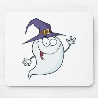 Halloween Ghost Flying Mouse Pad