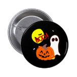 Halloween Ghost Friends Button