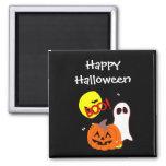Halloween Ghost Friends Fridge Magnet