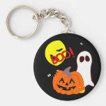 Halloween Ghost Friends Keychains