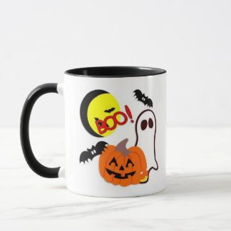Halloween Ghost Friends Mug