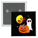 Halloween Ghost Friends Pins