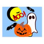 Halloween Ghost Friends Post Card