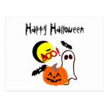 Halloween Ghost Friends Postcards