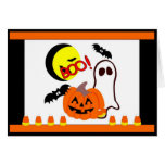 Halloween Ghost Friends Stationery Note Card