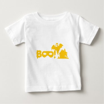 Halloween Themed HALLOWEEN GHOST GOLD BABY T-Shirt