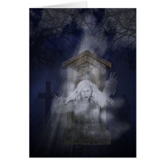 Halloween Ghost Greeting Cards