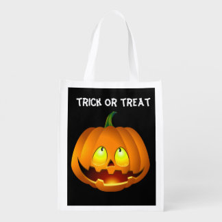 Halloween Ghost Grocery Bag