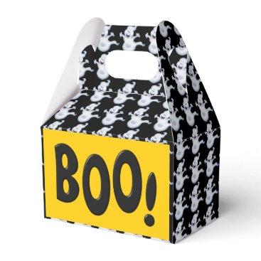 Halloween Themed Halloween Ghost Holiday gable favor box