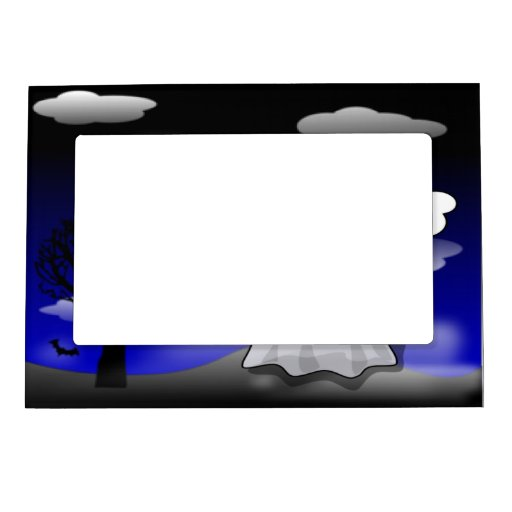 Halloween Ghost Magnetic Frame