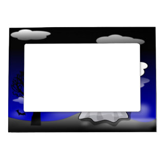 Halloween Ghost Magnetic Picture Frame