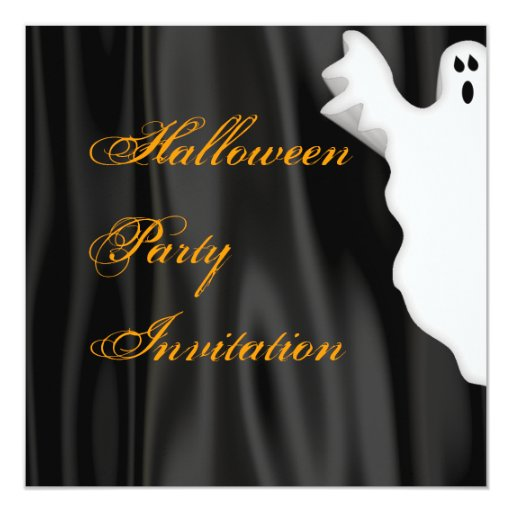 Halloween Ghost Party Invitation