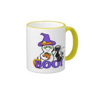 Halloween Ghost Ringer Mug
