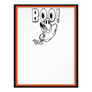 "Halloween Ghost says ""BOO!"" Flyer"